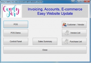 POS 2 WEB, update, weblink, Easy Populate